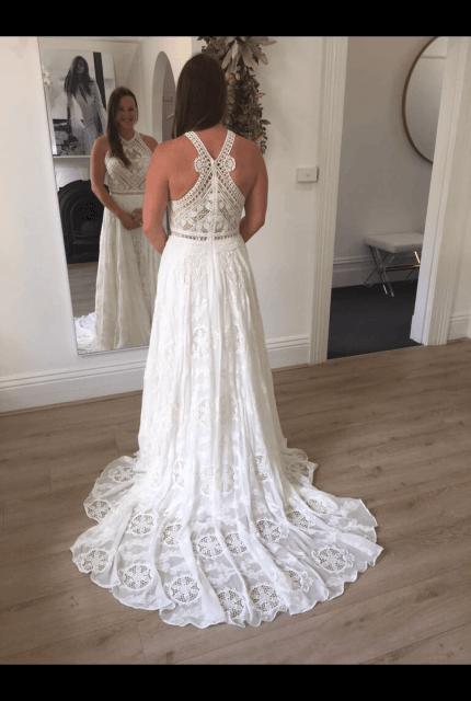 Rue De Seine – Size 12 A-Line dress | Second hand wedding dresses Nagambie - 14