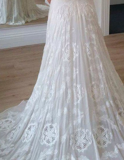 Rue De Seine – Size 12 A-Line dress | Second hand wedding dresses Nagambie - 13