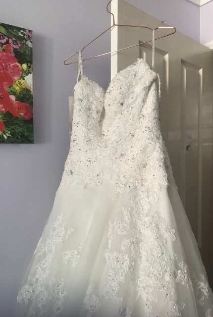 Sophia Tolli – Size 12 A-Line dress | Second hand wedding dresses Crestmead - 5