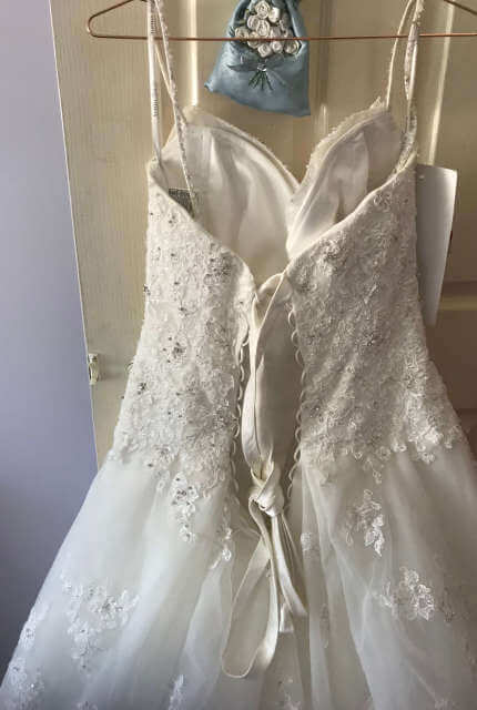 Sophia Tolli – Size 12 A-Line dress | Second hand wedding dresses Crestmead - 11