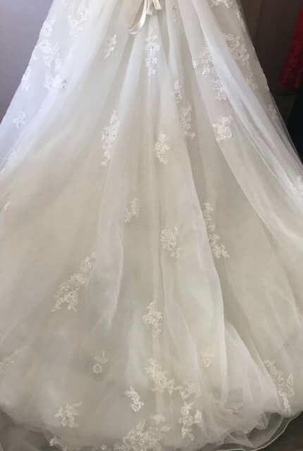 Sophia Tolli – Size 12 A-Line dress | Second hand wedding dresses Crestmead - 7