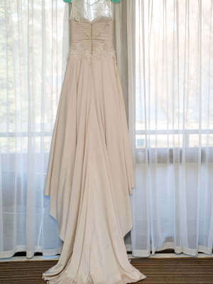 Jean Fox – Size 8 A-Line dress | Second hand wedding dresses Speers Point - 5