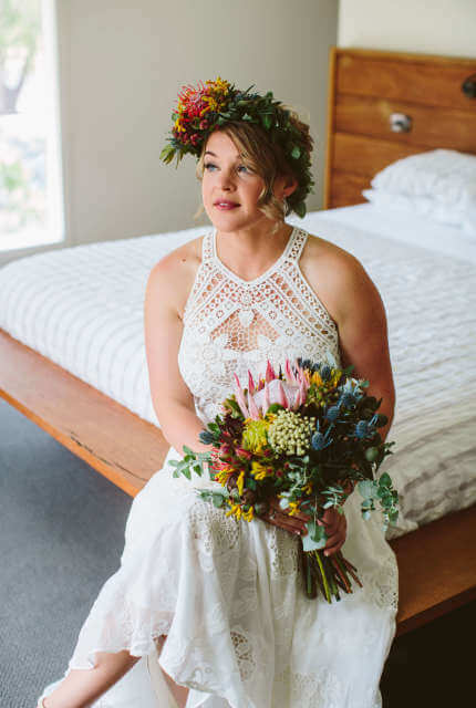 Rue De Seine – Size 12 A-Line dress | Second hand wedding dresses Nagambie - 5