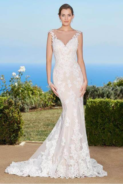Kitty Chen – Size 8 Fishtail dress | Second hand wedding dresses CALAMVALE - 3