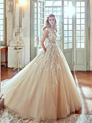 Ball Gown dress by Nicole Spose