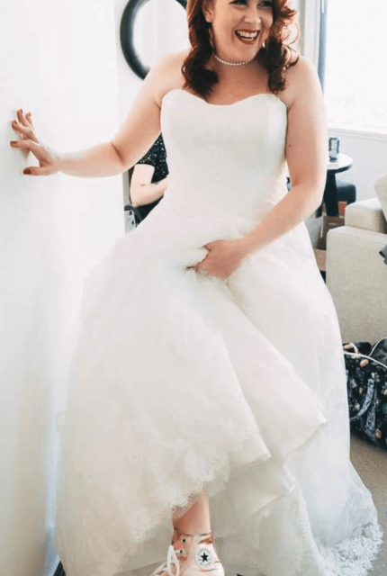 Allure Bridals – Size 16 A-Line dress | Second hand wedding dresses Pakenham - Size 16