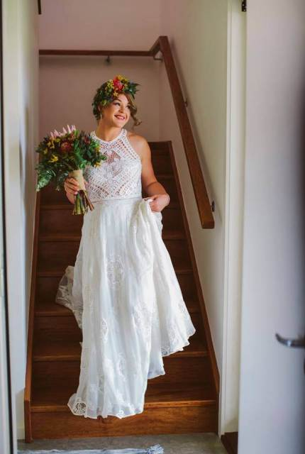 Rue De Seine – Size 12 A-Line dress | Second hand wedding dresses Nagambie - Size 12