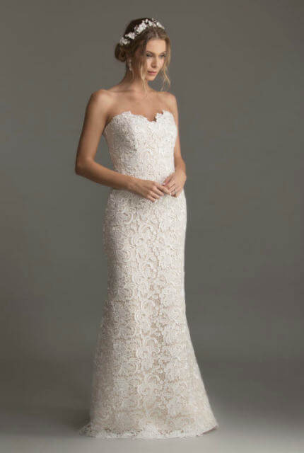 Caleche Bridal House – Size 10 Strapless dress | Second hand wedding dresses Hampton - Size 10