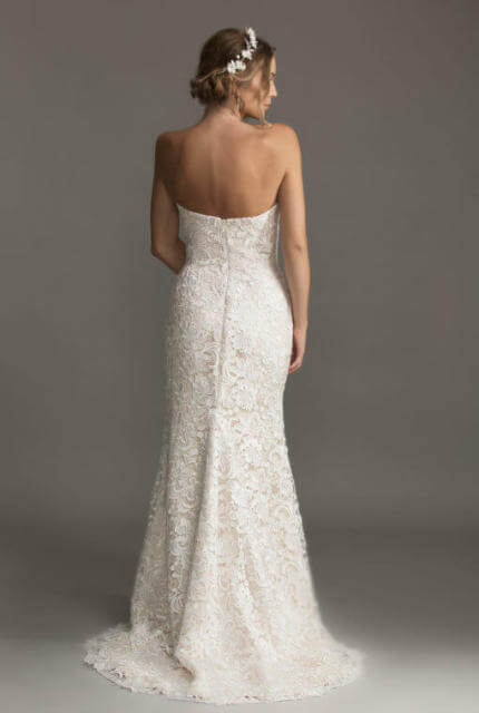 Caleche Bridal House – Size 10 Strapless dress | Second hand wedding dresses Hampton - 2