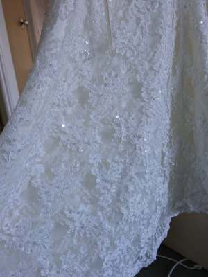 Luv Bridal – Size 6 Aline dress | Second hand wedding dresses Mansfield - 3