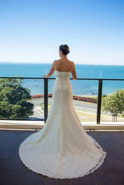 Luv Bridal – Size 6 A-Line dress | Second hand wedding dresses Mansfield - Size 6