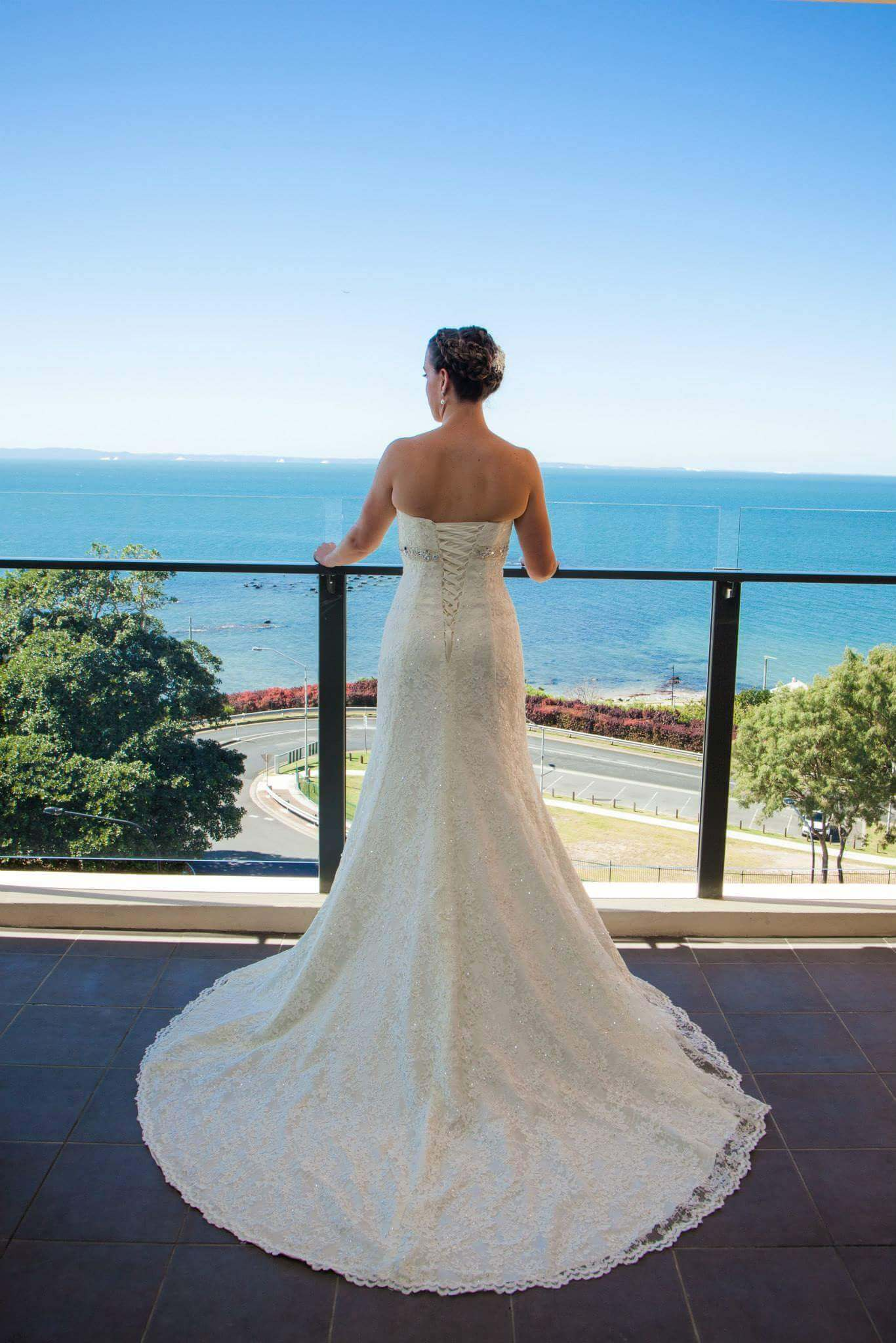 Luv Bridal – Size 6 Aline dress | Second hand wedding dresses Mansfield - Size 6