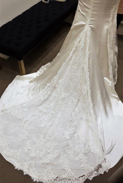 Pronovias – Size 12 Fishtail dress | Second hand wedding dresses Reservoir - 2