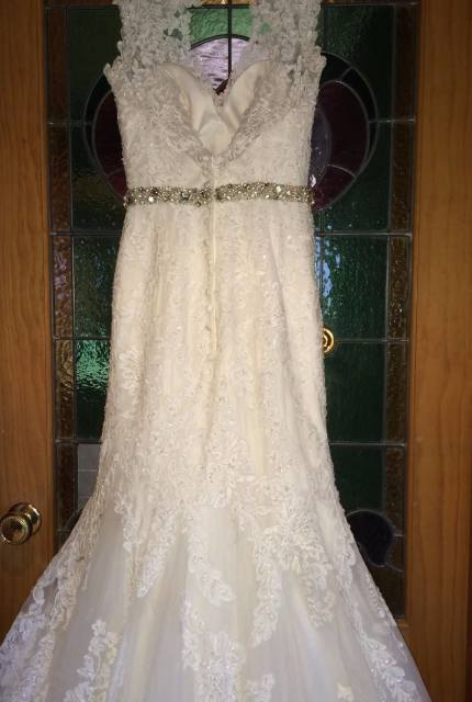 Allure Bridals – Size 8 Fishtail dress | Second hand wedding dresses Travancore - 5