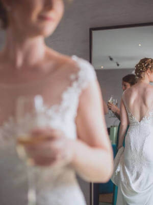 Bernadette Pimenta Couture – Size 12 Fit and Flare dress | Second hand wedding dresses St Kilda East - 3