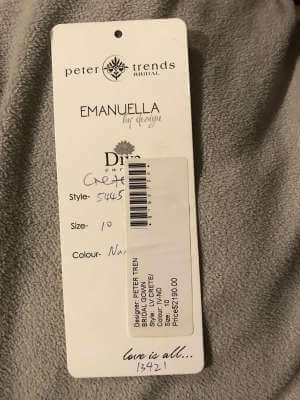 Peter Trends – Size 10 Fit and Flare dress   Second hand wedding dresses Camberwell - 5