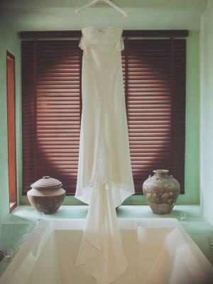 Bernadette Pimenta Couture – Size 12 Fit and Flare dress | Second hand wedding dresses St Kilda East - 8