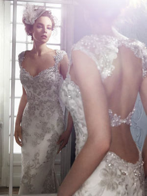 Two Piece dress by Maggie Sottero