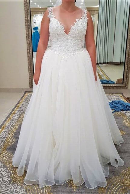 Two Birds Bridal – Size 14 Ball Gown dress | Second hand wedding dresses sydney - 4