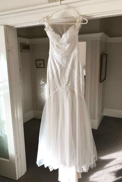 Peter Trends – Size 10 Fit and Flare dress | Second hand wedding dresses Camberwell - 3