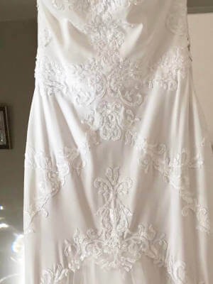 Peter Trends – Size 10 Fit and Flare dress   Second hand wedding dresses Camberwell - 4