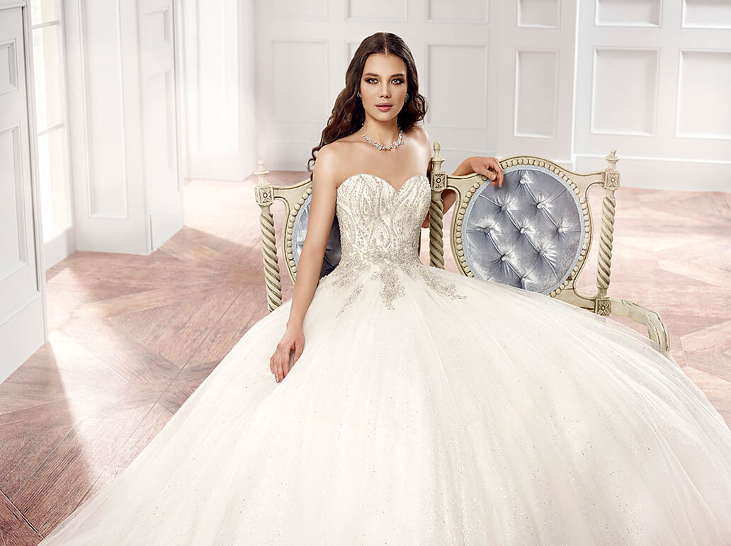 Eddy K – Size 12 Ball Gown dress | Second hand wedding dresses Keilor - Size 12