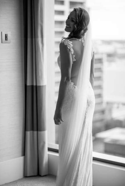 Ines Di Santo – Size 12 Trumpet dress | Second hand wedding dresses Port Melbourne - Size 12