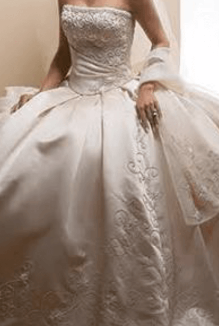 Maggie Sottero – Size 8 Ball Gown dress | Second hand wedding dresses Melbourne - Size 8