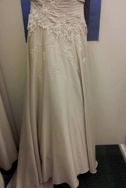 Jean Fox – Size 8 A-Line dress | Second hand wedding dresses Speers Point - 14