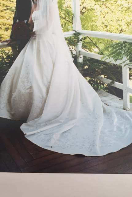 Maggie Sottero – Size 8 Ball Gown dress | Second hand wedding dresses Melbourne - 3