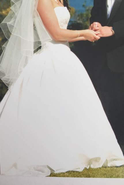 Maggie Sottero – Size 8 Ball Gown dress | Second hand wedding dresses Melbourne - 4