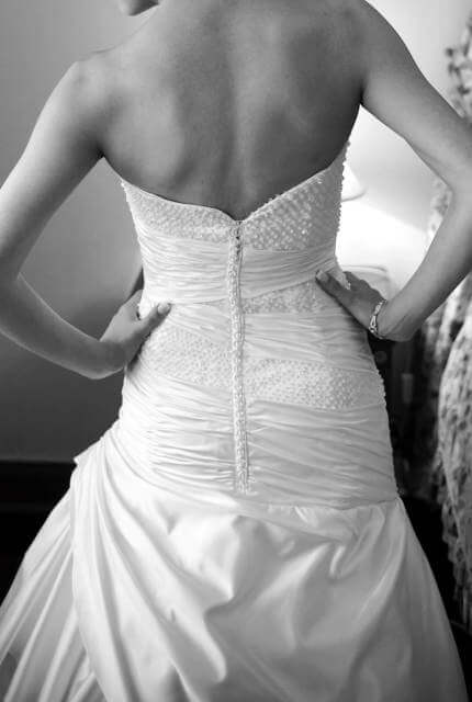 Nyphes – Size 6 Strapless dress | Second hand wedding dresses Wayville - 5
