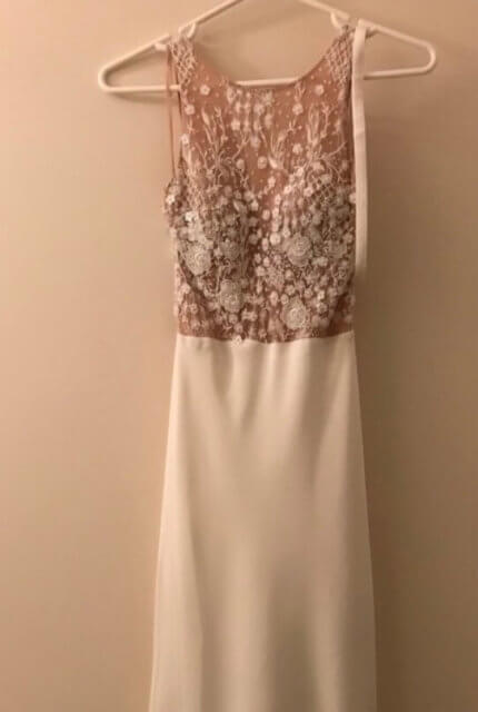 Jane Hill – Size 8 Fishtail dress | Second hand wedding dresses Eltham - 4