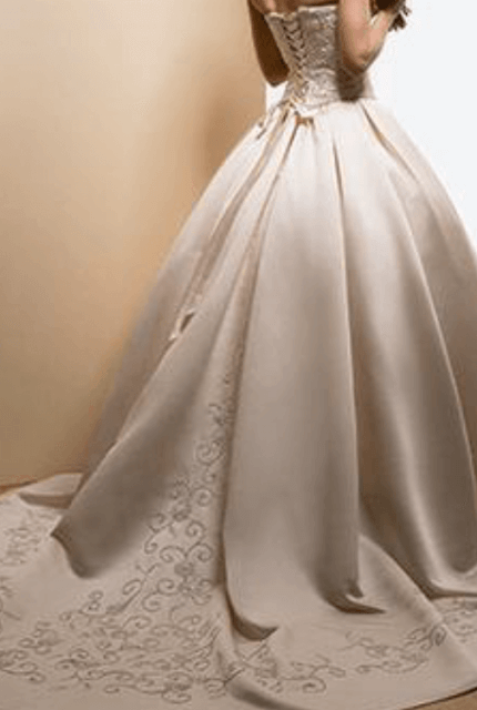 Maggie Sottero – Size 8 Ball Gown dress | Second hand wedding dresses Melbourne - 2