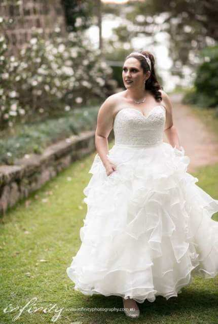 Allure Bridals – Size 16 Ball Gown dress | Second hand wedding dresses Sydney - 4