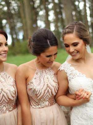 Essense of Australia – Size 12 Fit and Flare dress | Second hand wedding dresses Narre Warren - 5