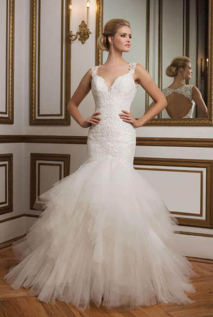 Justin Alexander – Size 14 Fit and Flare dress | Second hand wedding dresses Perth - 4