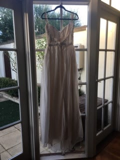 Vasiliki Couture – Size 10 A-Line dress | Second hand wedding dresses Elsternwick - 6