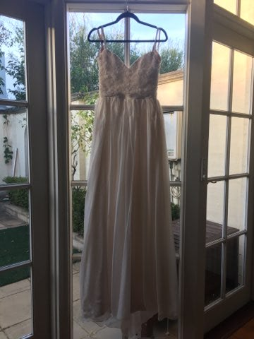 Vasiliki Couture – Size 10 A-Line dress | Second hand wedding dresses Elsternwick - 4