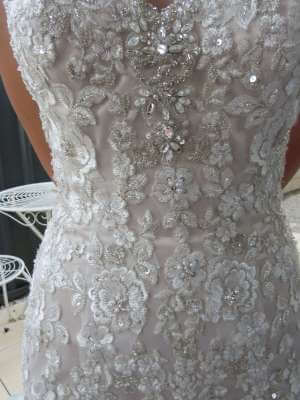 Bridal Chic – Size 6 Trumpet dress | Second hand wedding dresses Banksia Grove - 5