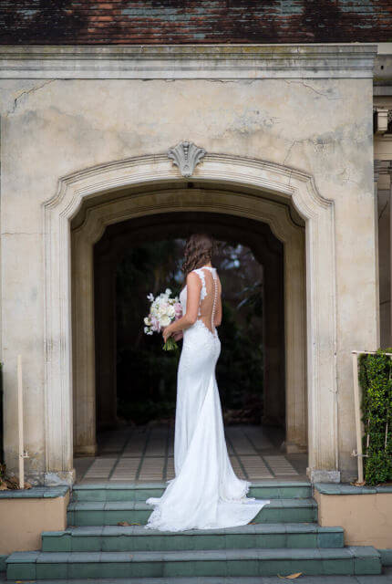 Ines Di Santo – Size 12 Trumpet dress | Second hand wedding dresses Port Melbourne - 7