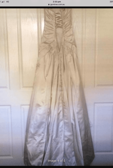 Sophia Tolli – Size 6 Fit and Flare dress | Second hand wedding dresses Kilsyth - 5