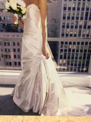 Fit and Flare dress by Sophia Tolli