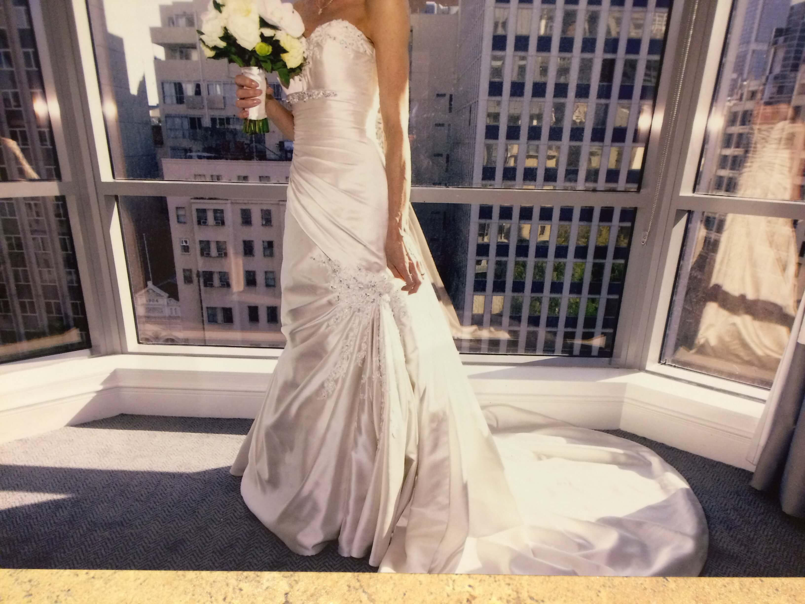 Sophia Tolli – Size 6 Fit and Flare dress | Second hand wedding dresses Kilsyth - Size 6