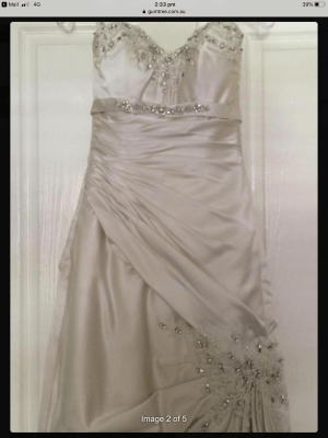 Sophia Tolli – Size 6 Fit and Flare dress | Second hand wedding dresses Kilsyth - 4