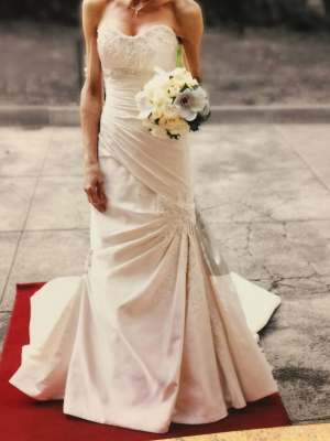 Sophia Tolli – Size 6 Fit and Flare dress | Second hand wedding dresses Kilsyth - 2