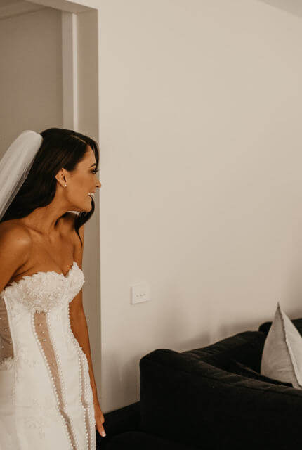Nektaria – Size 8 Strapless dress | Second hand wedding dresses Chirnside Park - 5