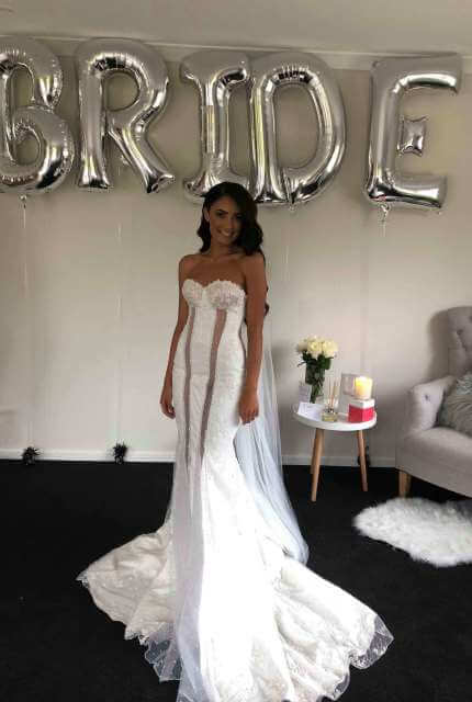 Nektaria – Size 8 Strapless dress | Second hand wedding dresses Chirnside Park - 6