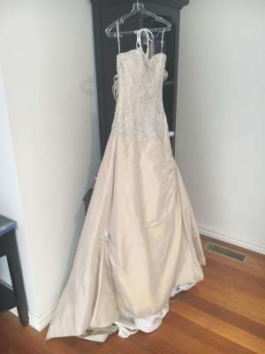 Maggie Sottero – Size 6 Fit and Flare dress | Second hand wedding dresses Kilsyth - 7