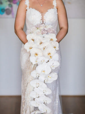 Peter Trends – Size 10 Fishtail dress | Second hand wedding dresses South Perth - 5